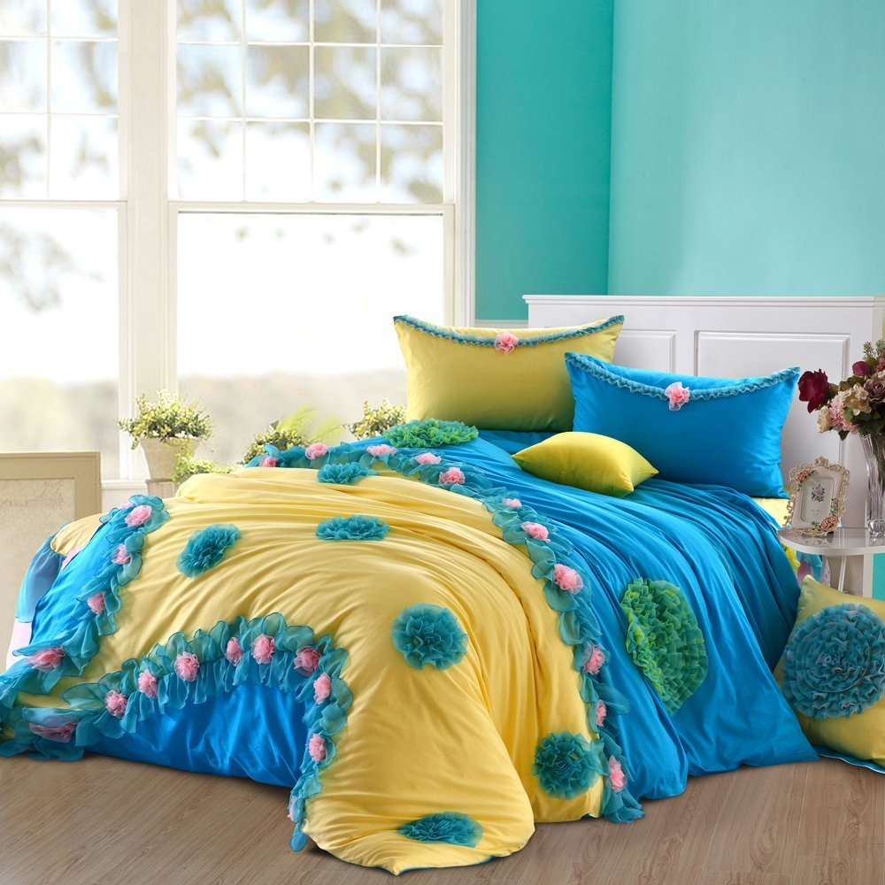 Beautiful Ruffle Bedding Set