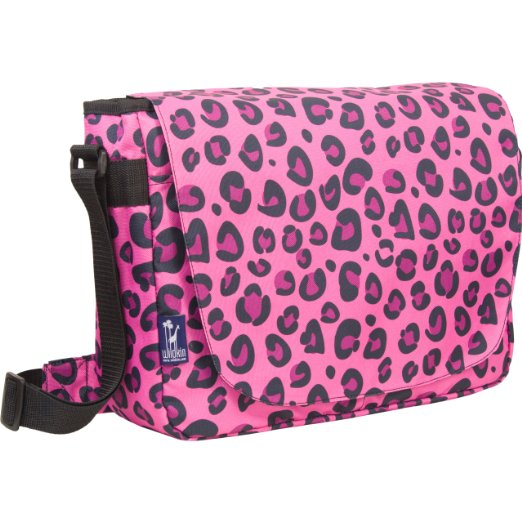 Pink Leopard Laptop Bag