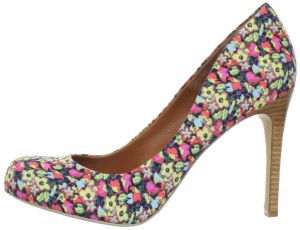 Flower High Heel Shoes