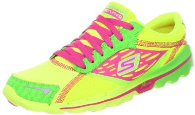 lime green yellow running shoes