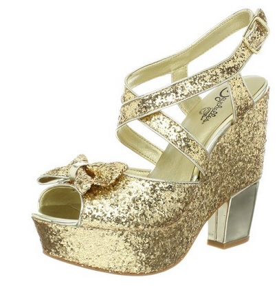 Sparkly Gold Sandals