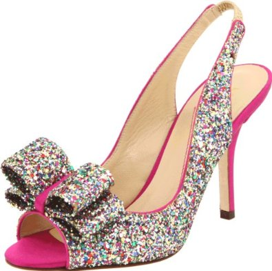 sparkly pumps