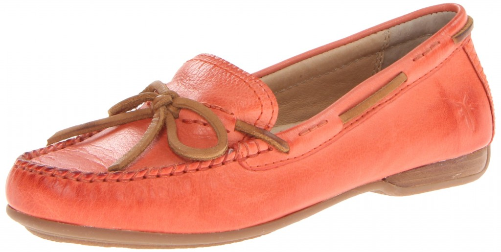 FRYE Women's leather loafer