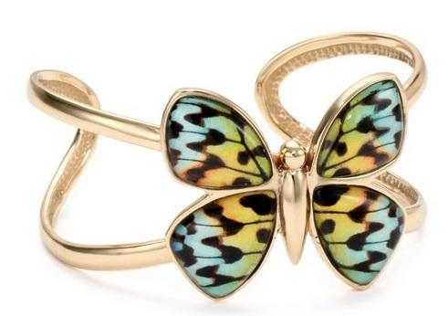 pretty butterfly cuff bracelet