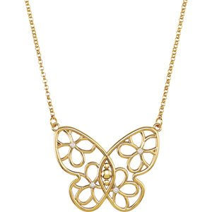 cute butterfly necklaces