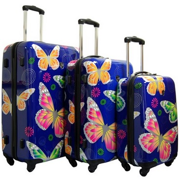 Cutest Butterfly Suitcases