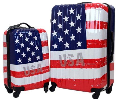 Patriotic Suitcases