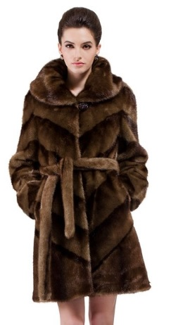 12 Beautiful, Fashion and Fancy Mink Fur Coats for Women!