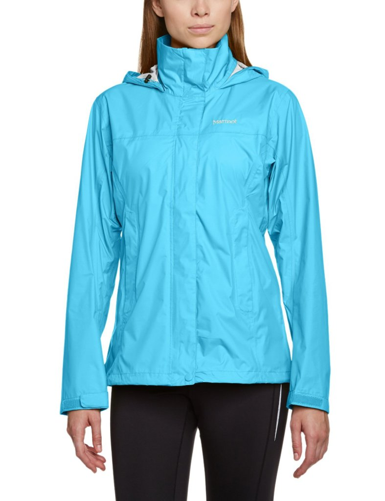 Fun Atomic Blue Lightweight Rain Jacket for Women