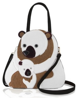 Cute Bear Fashion Design Handbag