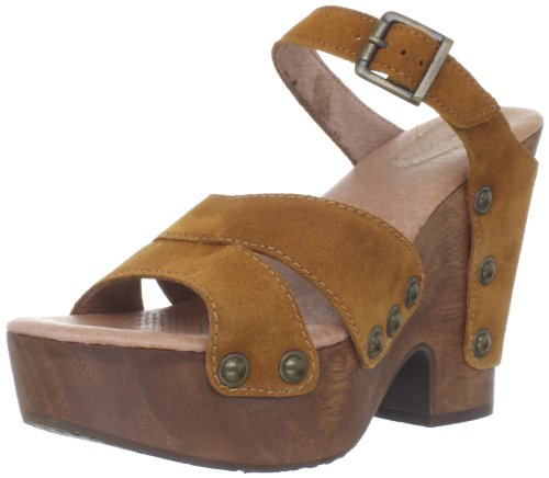 Cute Suede Platform Sandals