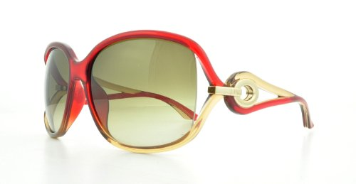 Red Christian Dior Sunglasses