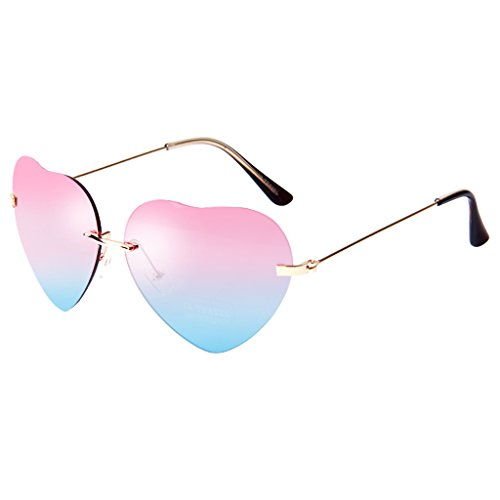 Cute Heart Shape Frame Sunglasses