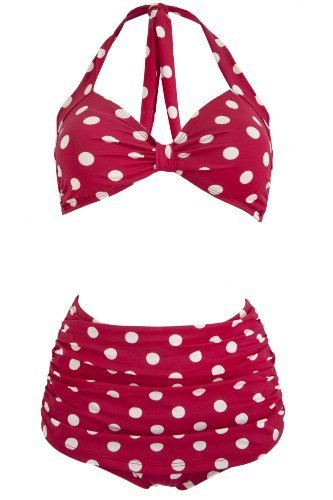 two dot women Basic editions women's tankini swim top - polka dot mix and match two-piece swimsuits to find a look that suits sears has women's swimwear to suit any style.