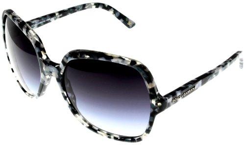 Dolce & Gabbana Grey Marbled Fashion Sunglasses