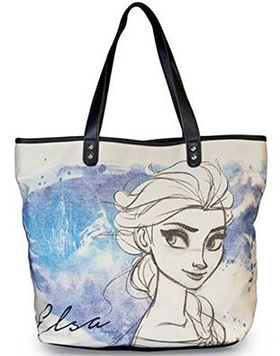 Disney Frozen Elsa Hand Drawn Canvas Tote Bag