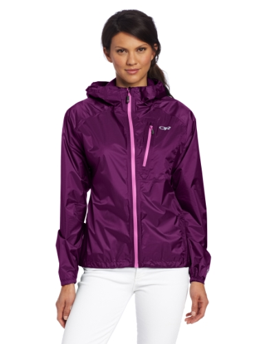 Beautiful Lightweight Purple Rain Jacket for Women
