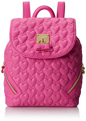 Betsey Johnson Cute Heart Pattern Backpacks