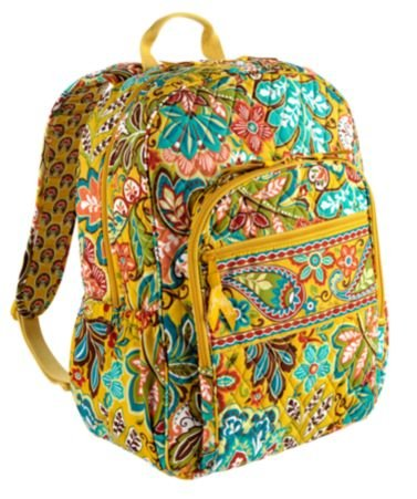 Fun and Colorful Vera Bradley Cotton Backpacks