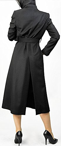 Black Cashmere Women's Long Coat