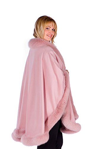 Girly Pink Cashmere Cape
