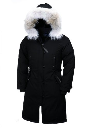 Canada Goose Women's Kensington BLACK Parka Coat