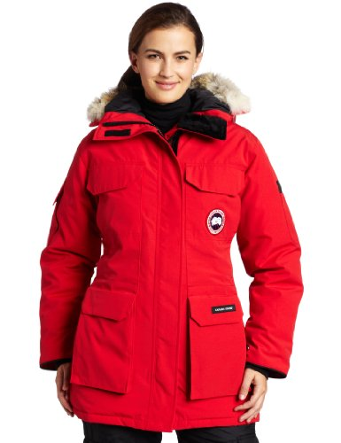 Mid Length RED Parka