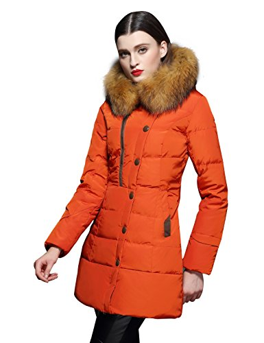 ORANGE Parka Coat