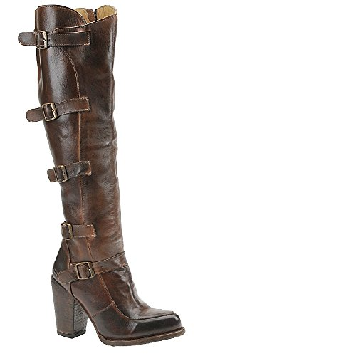 Rustic Motorcycle Boots for Women