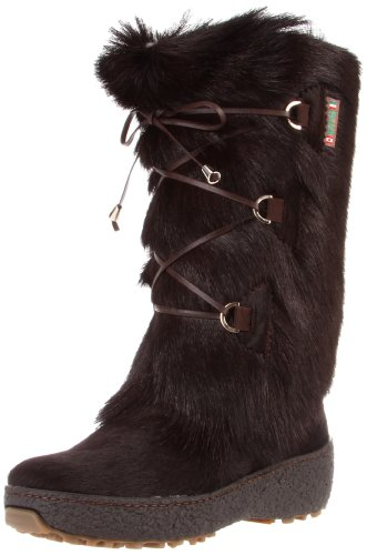 Goat Hair Fur Women's Boots