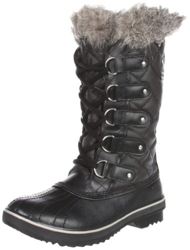 Warm Weatherproof Leather Winter Boots for Teen Girls