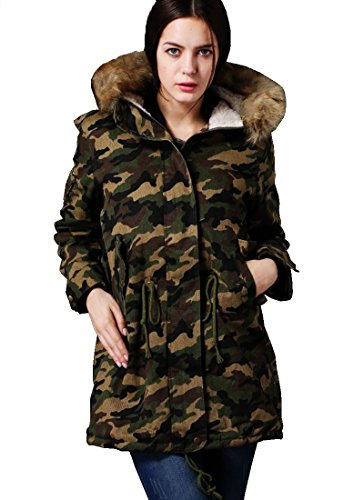 Awesome Winter Camo Jacket for Teen Girls