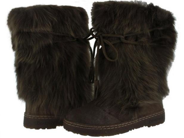 Cute Fur Winter Boots for Women