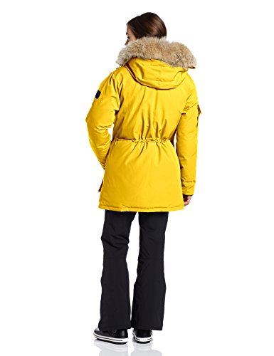 YELLOW Parka Coat for Women