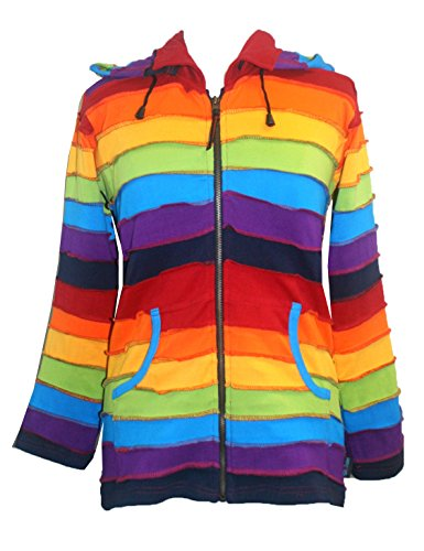 Cute RAINBOW Colors Cotton Jacket