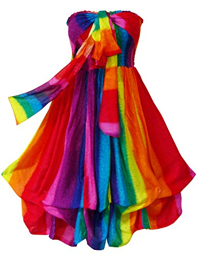 rainbow color clothing