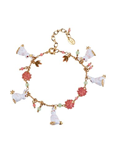Gorgeous White Rabbits Bracelet