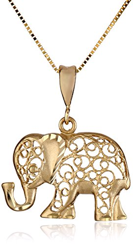 Cool Elephant Pendant Necklace