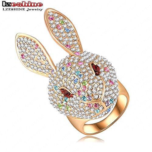 Sparkly Bunny Rabbit Ring