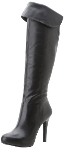 Beautiful Jessica Simpson Black Knee High Leather Stylish Boots