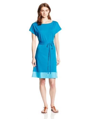 Comfy Blue Merino Wool Dress
