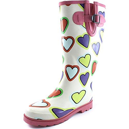 Cute HEARTS Rain Boots