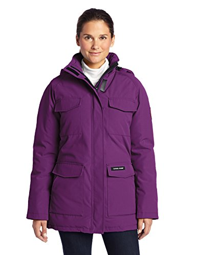 Canada Goose Women's PURPLE Parka Coat