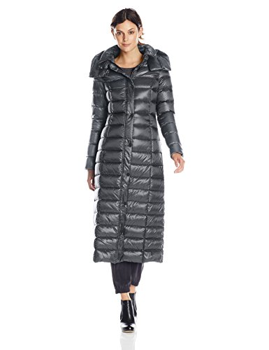 Elegant Long Quilted Puffer Coat