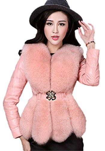 Cute Pink Fur Jacket