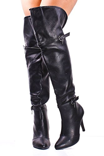 Affordable Cute Knee High Heel Boots