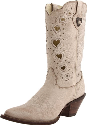 Cute and Fun Girly Hearts Cowgirl Boots