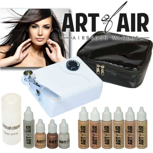 Professional Airbrush Cosmetic Makeup System