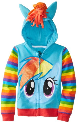 My Little Pony Rainbow Dash Teen Girls Hoodie
