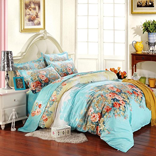 Floral Duvet Cover Set for Girly Girls